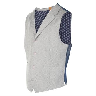 BLUE INDUSTRY Grijs gilet