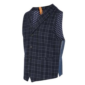 BLUE INDUSTRY Ruit gilet