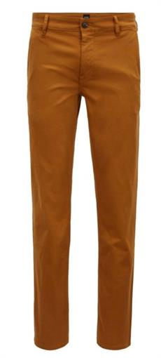 BOSS ORANGE Okergele slim fit chino