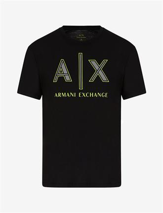 Armani Exchange Zwart Armani Exchange t-shirt, slim fit