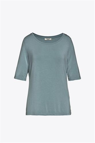BEAUMONT Top sky blauw stretch Beaumont
