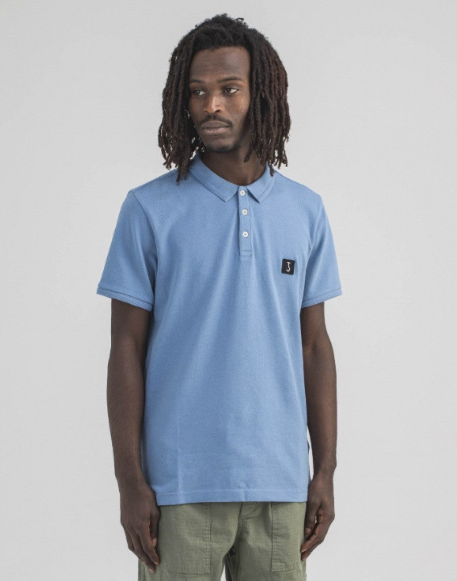 Butcher of Blue Polo classic comfort blauw Butcher of Blue