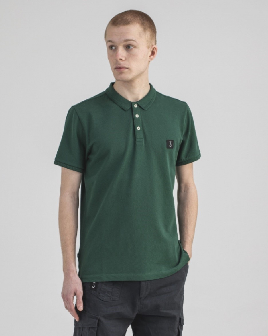 Butcher of Blue Polo classic comfort groen Butcher of Blue