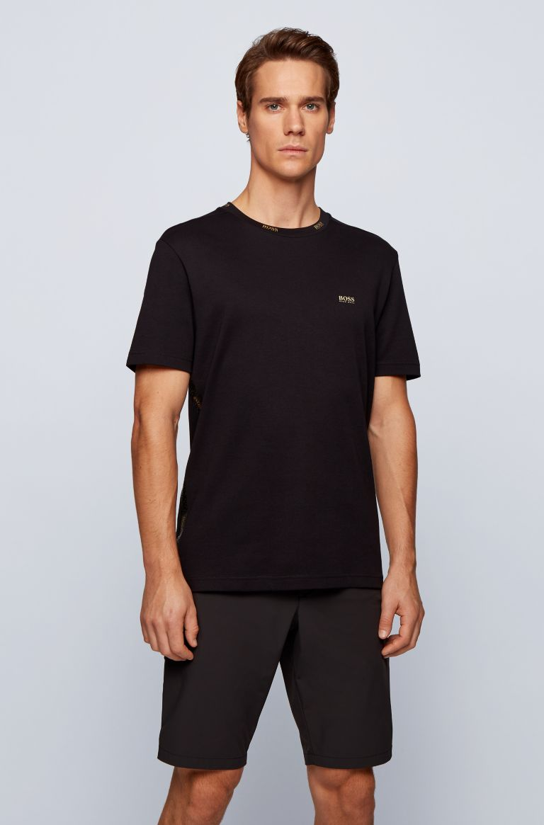 HUGO BOSS zwart slimfit t-shirt van Hugo Boss