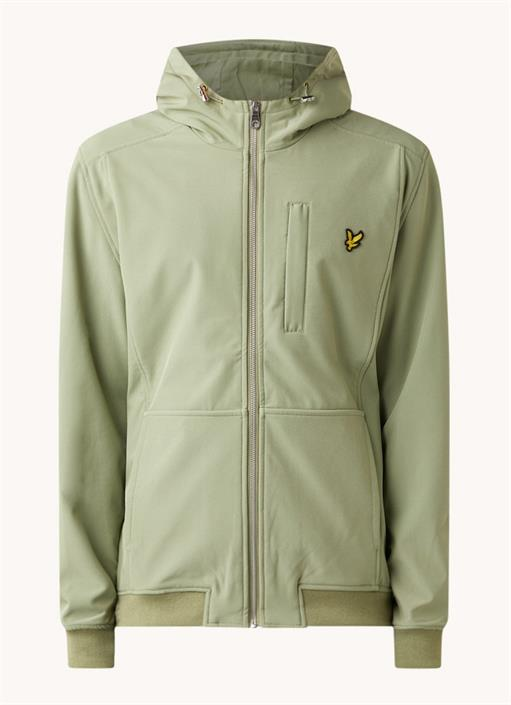 lyle-scott-softshell-jacket-groen