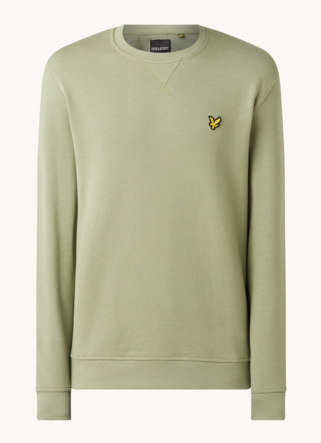 Lyle&Scott Sweater groen Lyle & Scott