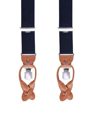 Profuomo BRACES LUX 36MM INFORMAL NAVY