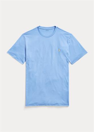 RALPH LAUREN Licht blauw t-shirt van Polo Ralph Lauren, slim fit model.