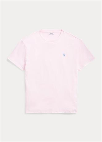 RALPH LAUREN Roze t-shirt van Polo Ralph Lauren, slim fit model.